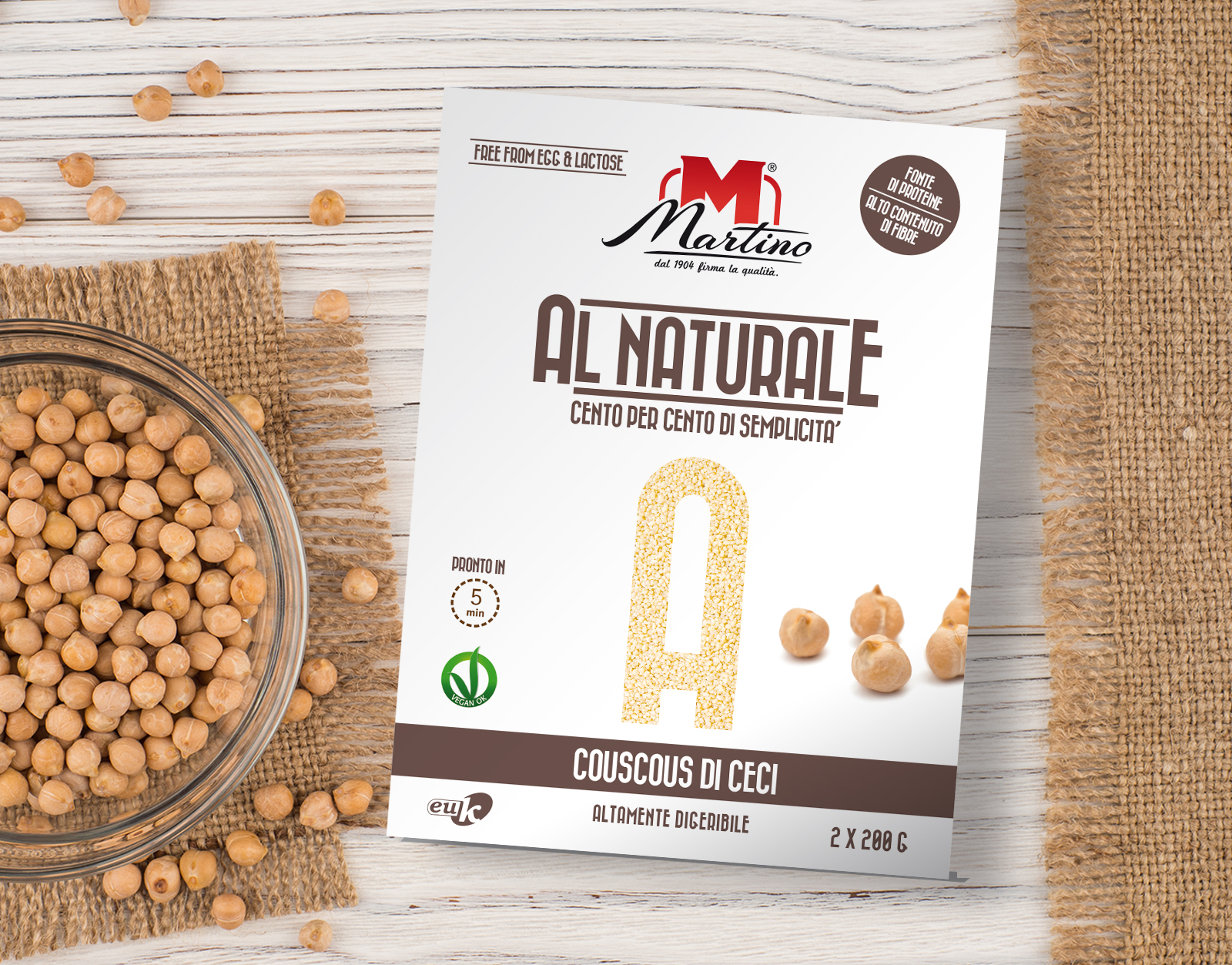 "Martino's ""Al Naturale"" Specialities"