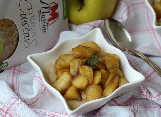 Crema dolce di Couscous con mela e cannella