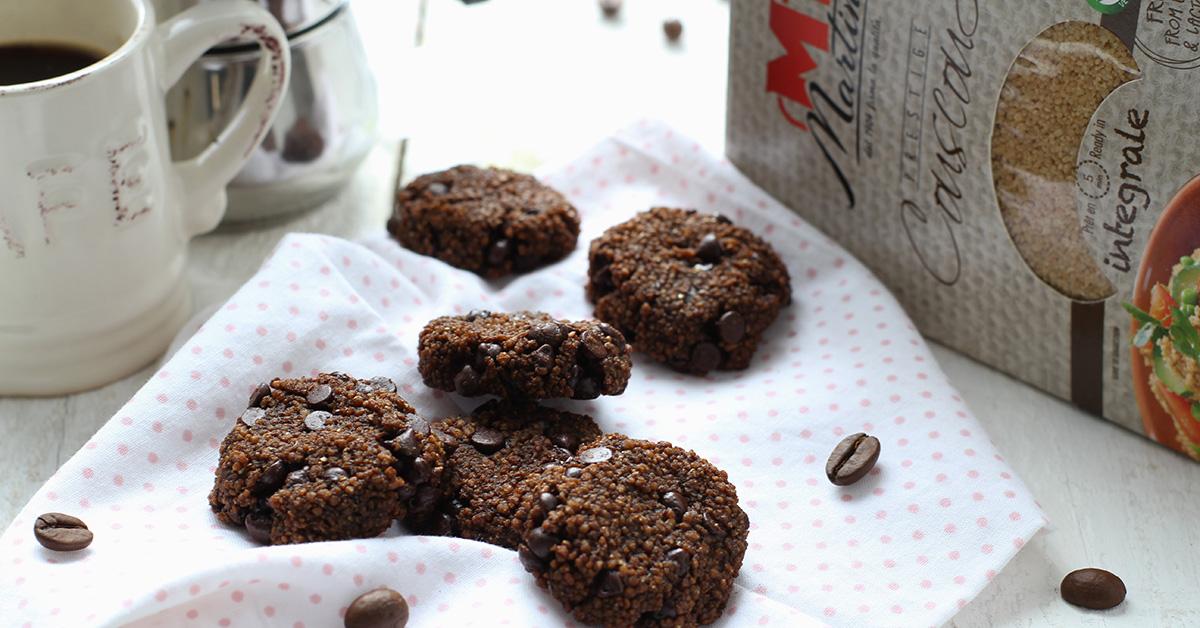 Biscotti di Couscous al caffè e cioccolato