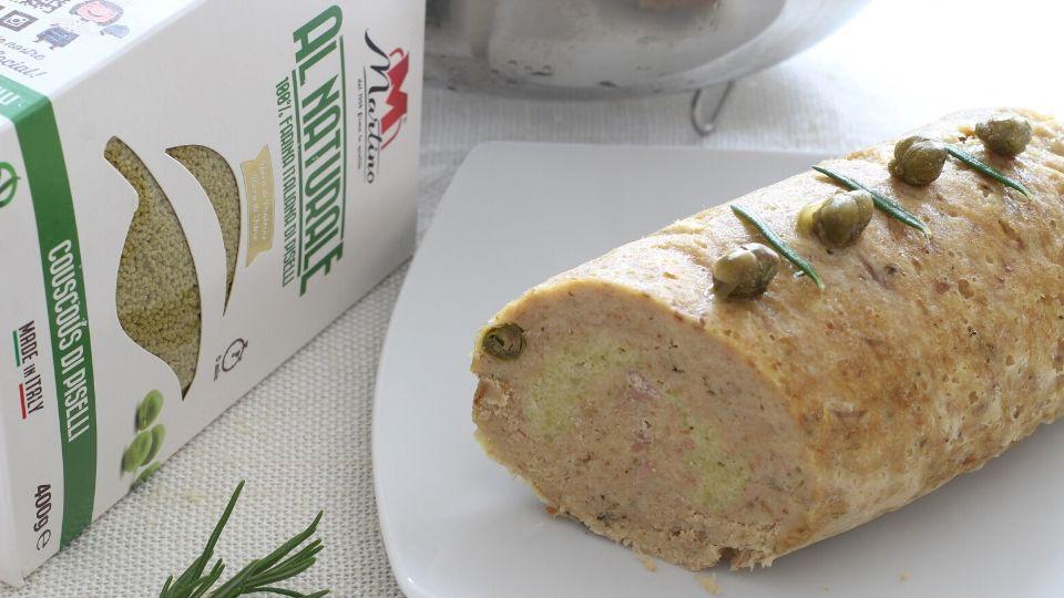 Polpettone couscous