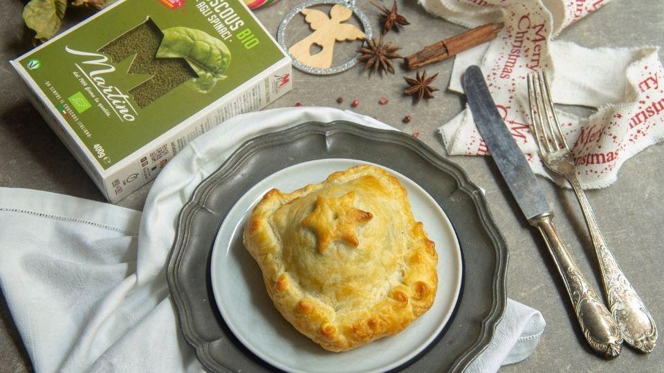 Medaglioni di vitello in crosta con cous cous agli spinaci2