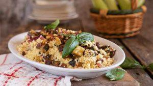 couscous con zucchine