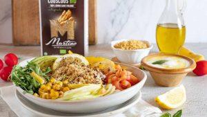 Couscous con verdure drenanti e yogurt greco